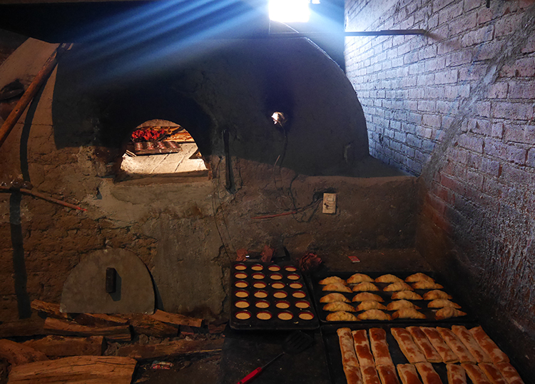 Wood-fired Bread Oven Run by One of the Three Women in Epifania's Microloan Group